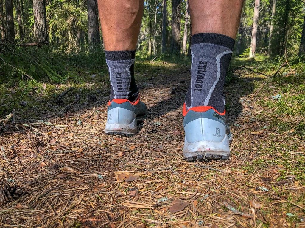 1000 mile sukat takaa lenkit ilman rakkoja
