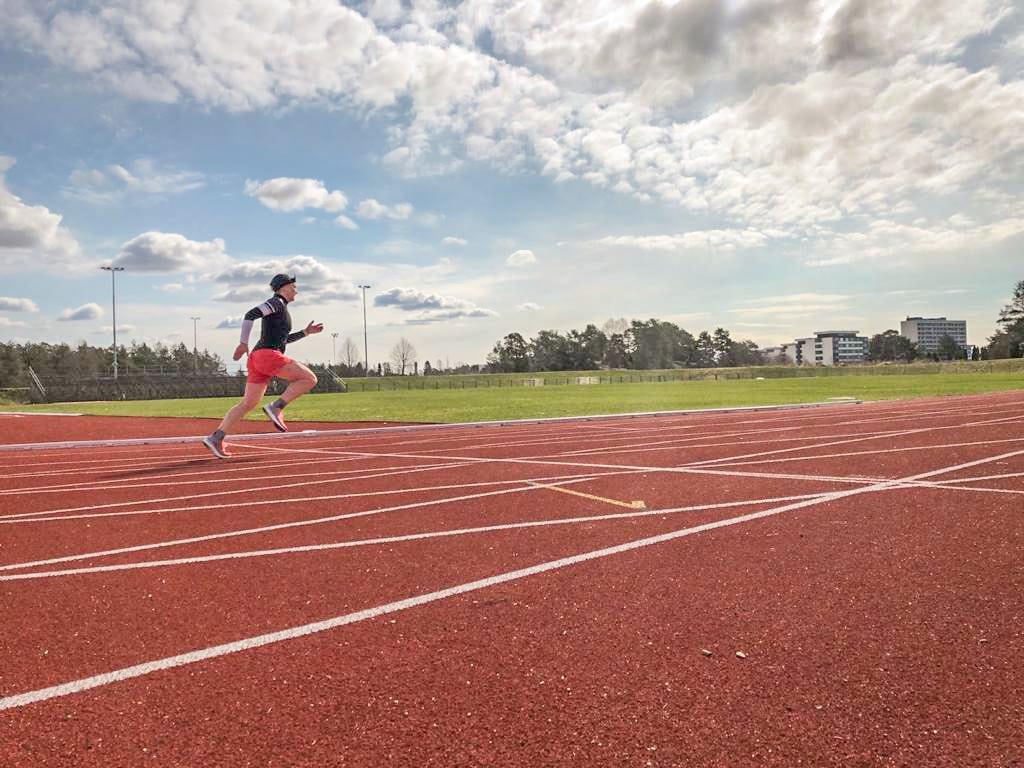 Loikkatreeni on hyvä harjoitus juoksijalle