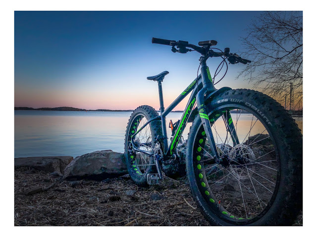Fatbike eli läskipyörä on varma valinta maastoon kuin maastoon