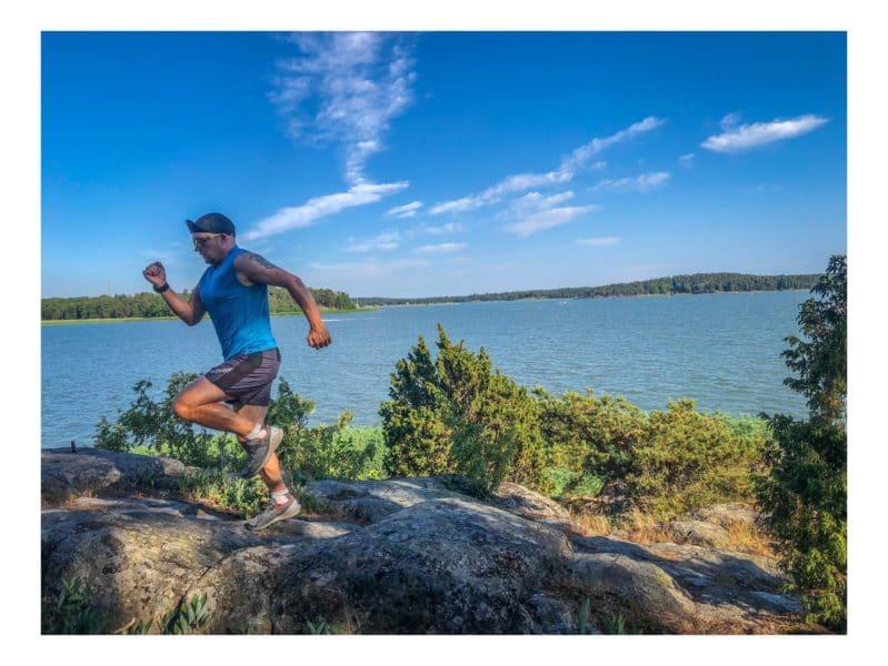 Juoksu ja venyttely