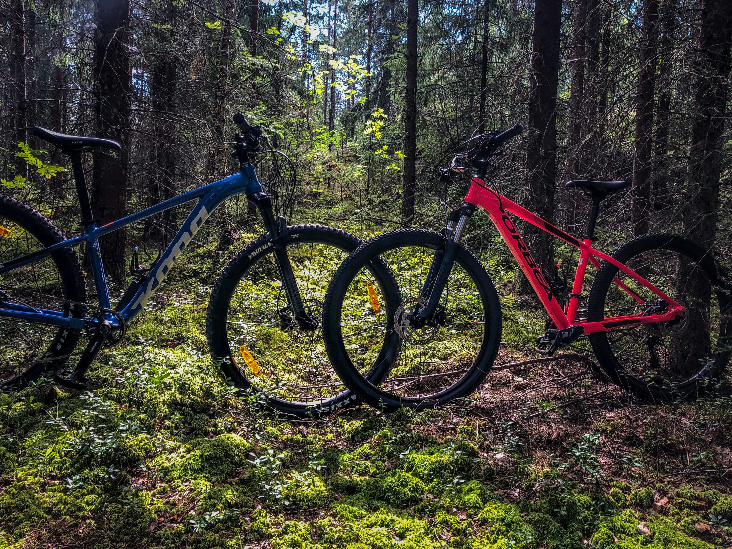 Maastopyöräily tuli mukaan uutena harrastuksena