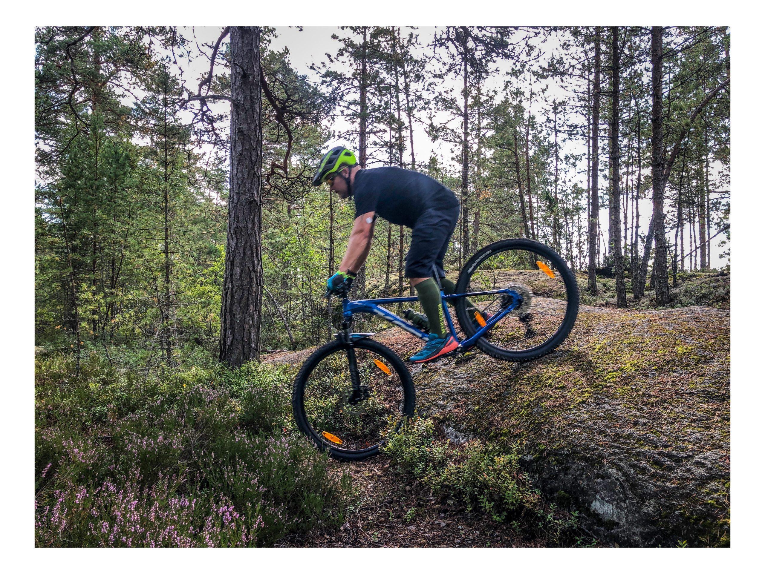 Maastopyöräilyn alkeet on tulleet tutuksi