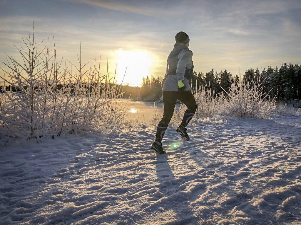 Juoksu talvella, mitä ottaa huomioon
