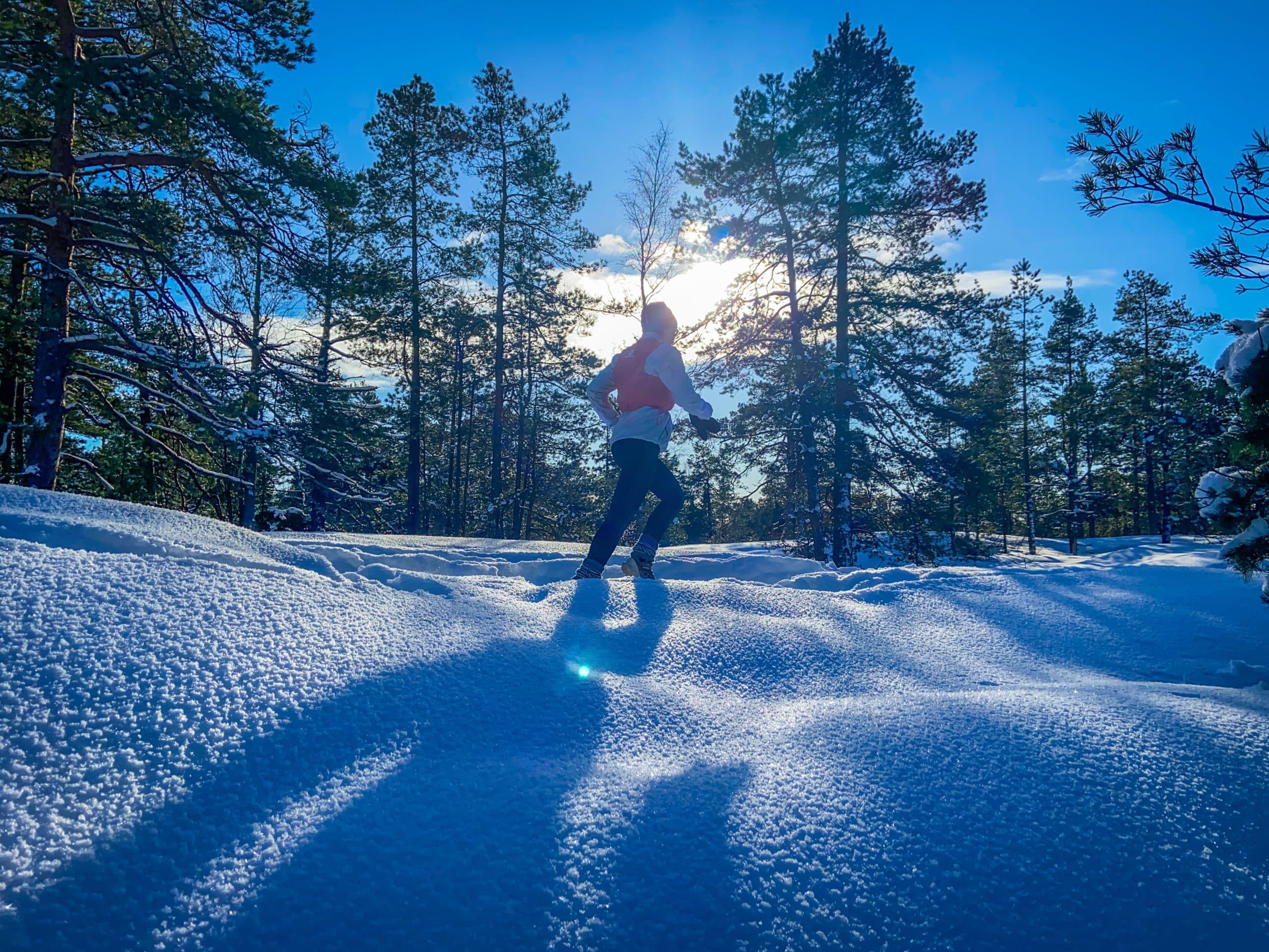 Polkujuoksua – pitkästä aikaa yhdessä poluilla