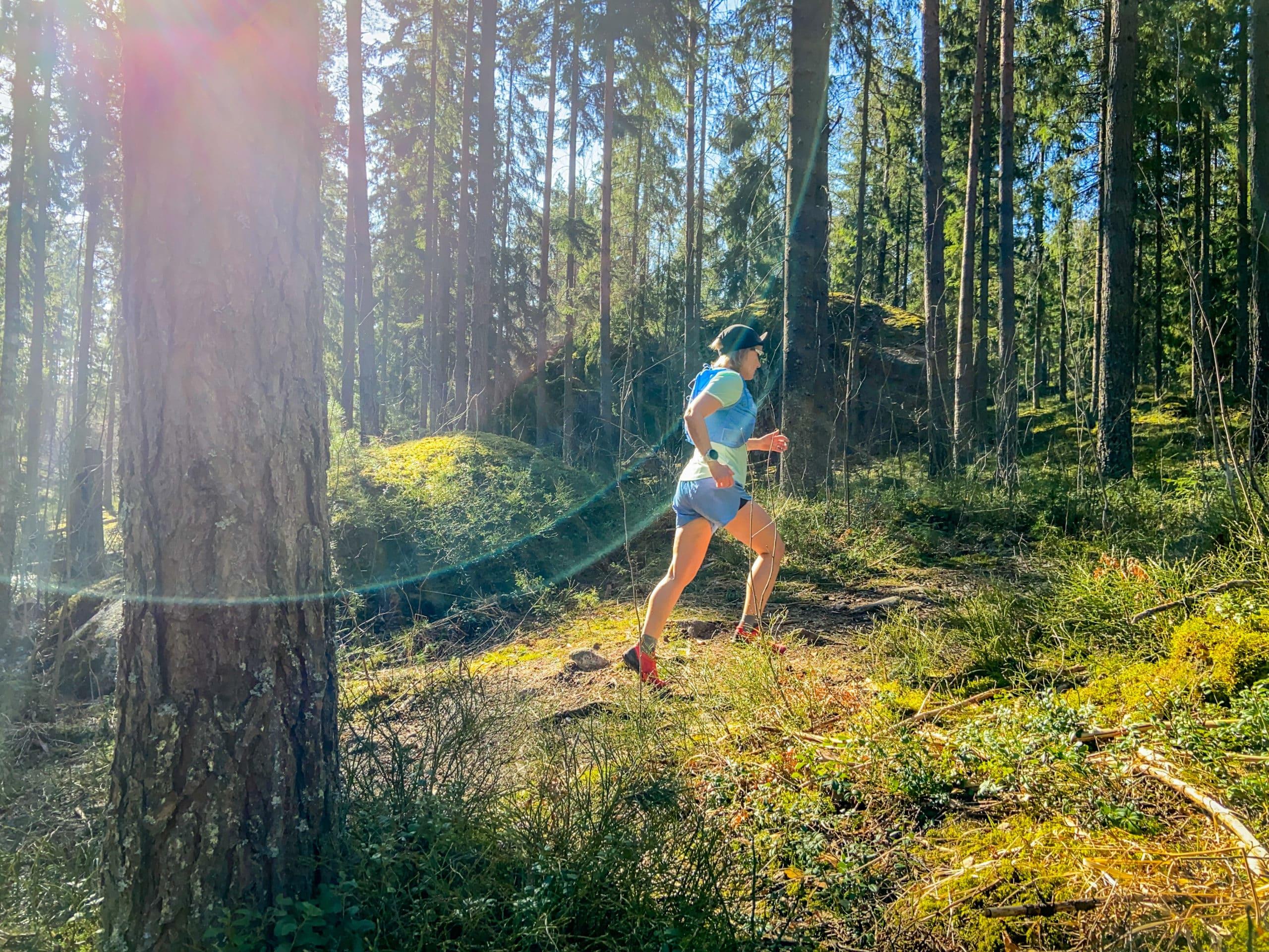 Mäkitreeni poluilla – tavoitteena tunturit