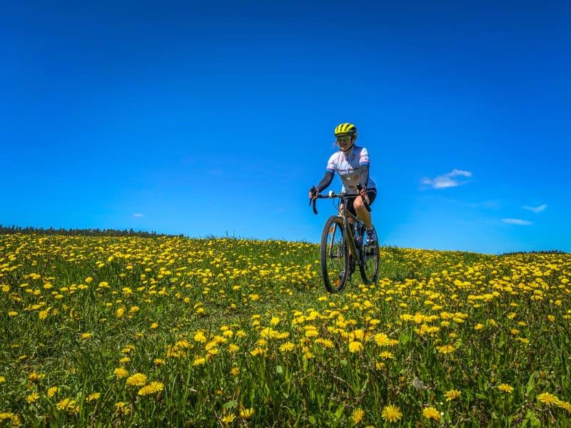 Grvavel-pyöräily