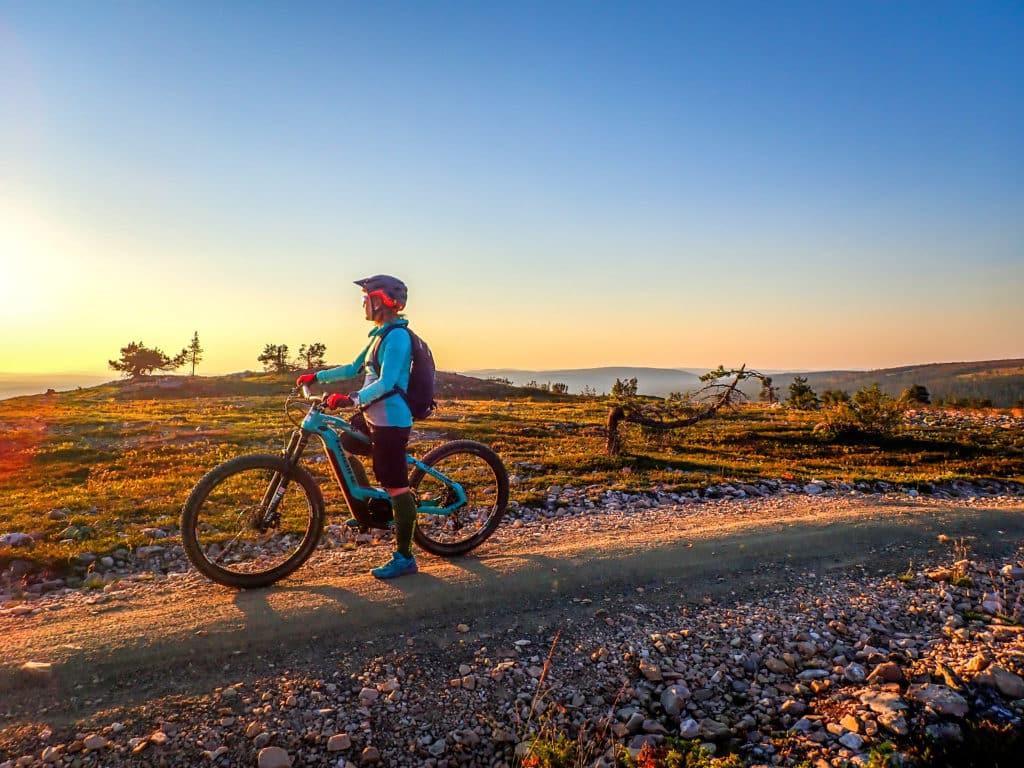 Ylläs ja pyöräily antoi uusia maisemia