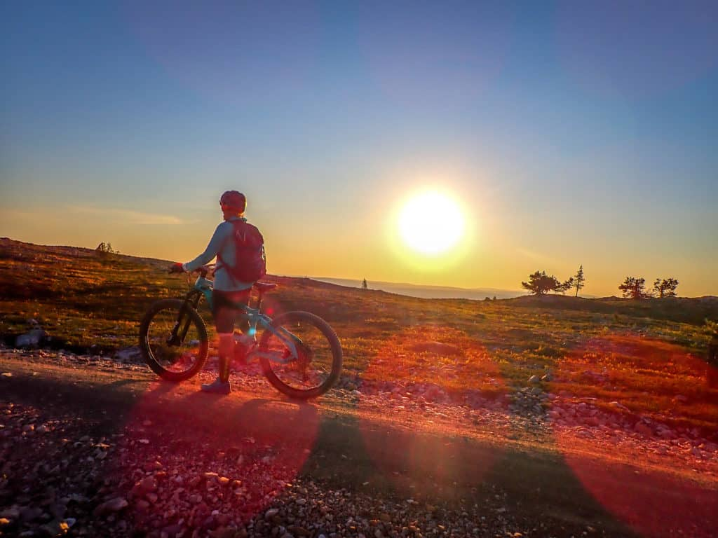 Ylläs ja pyöräily menee jatkoon