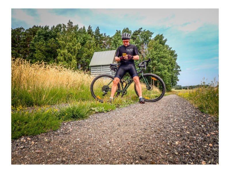 Palauttelua pyöräillen