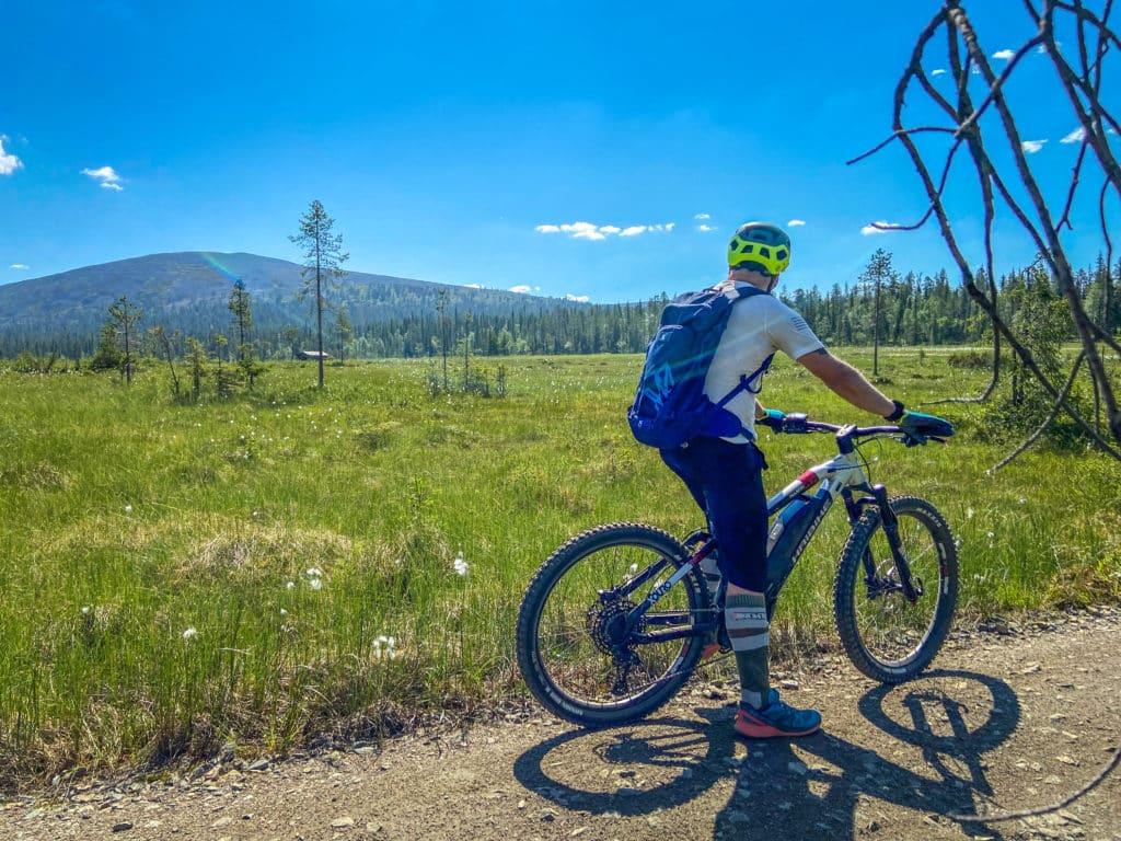 Ylläs ja pyöräily vuokrapyörällä