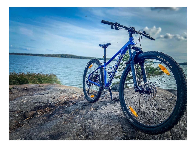 Maastopyörä on hyvä kunnon kohottamiseen