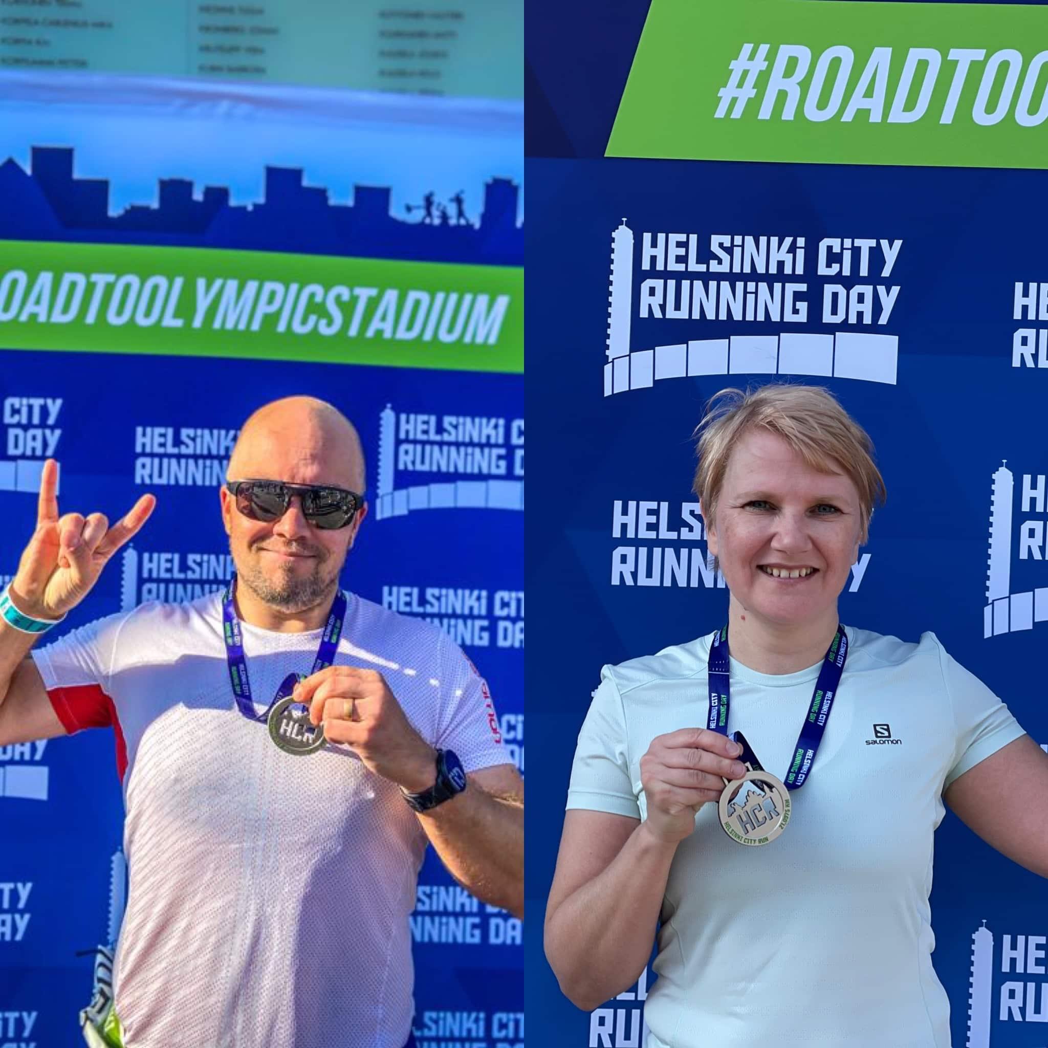 Helsinki City Running Day – puolimaratonilla